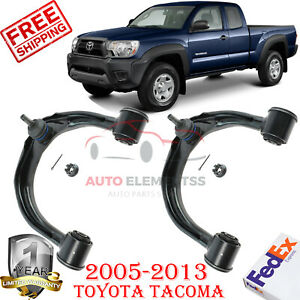 Front Upper Control Arm Pair For 05 15 Toyota Tacoma Lh Rh Sides W Ball Joint