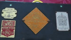 Vintage Antique Car Show Plaque From The 1950 S