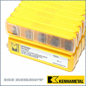 Ccmt 32 52 Lf Kc5010 Kennametal 10 Inserts Factory Pack