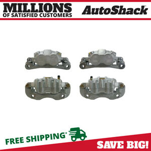 Front Rear Brake Calipers For 2000 2002 2003 2004 Ford F 350 F 250 Super Duty