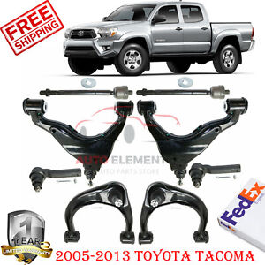 Front Upper Lower Lh Rh Control Arm Kit For 2005 13 Toyota Tacoma 4wd 8pc