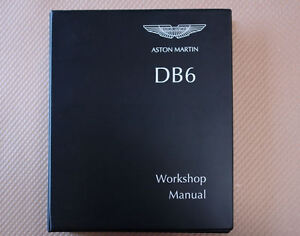 Aston Martin Db6 Workshop Manual Factory Issue Brand New
