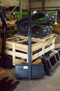 Skid Steer Tree Boom Carrier For Mini Loaders 3000 Lb Capacity asv terex Mount