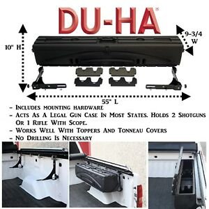 70200 Du Ha Humpstor Truck Bed Gun Case Wheel Well Tool Box 55 X 9 75 X10