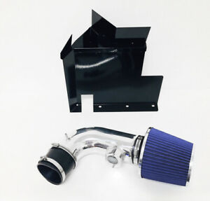 Black Blue For 2007 2011 Bmw 128i 328i 3 0l 6cyl Heat Shield Cold Air Intake