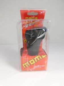 Momo Black Aluminum Universal Automatic Transmission Car Gear Stick Shift Knob