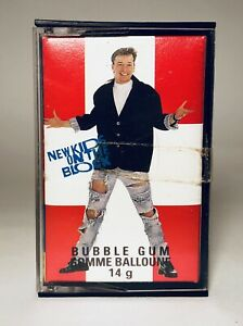 Vintage 1990 O-Pee-Chee NEW KIDS ON THE BLOCK Bubble Gum candy container #14 $12.00
