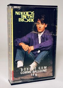 Vintage 1990 O-Pee-Chee NEW KIDS ON THE BLOCK Bubble Gum candy container #17 $12.00