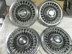 1966 Pontiac Hub Caps Wheel Covers Nice Cool Wow Vintage Automotive Caps