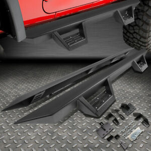 For 19 20 Ram Truck 1500 Crew Cab Running Board 3 Side Rock Rail Nerf Step Bar