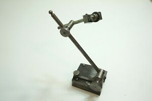 Vintage Starrett Universal Surface Gauge No 257 With 7 Spindle Bonus Sleeve