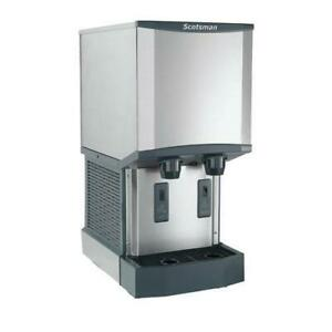 Scotsman Hid312a 1 300 Lb Meridian Ice Maker With Water Dispenser