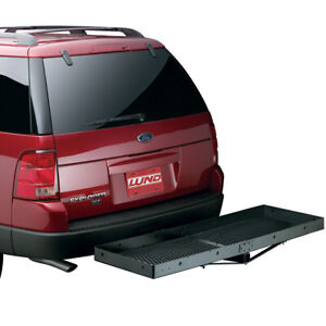601010 Lund Hitch Mounted Stationary Cargo Carrier 21 X 61