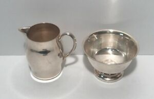 Vintage 1883 Fb Rogers Co Silver On Copper Silver Plated Cup Creamer