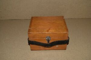 jm Leeds Northrup L n 5305 Test Set Vintage Meter In Wood Case