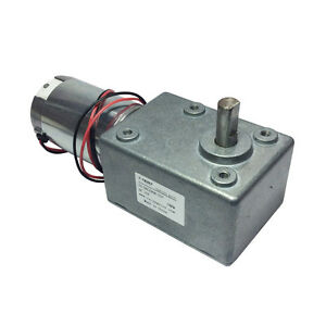 Metal Gearbox Motor Low Speed High Torque 60kg cm Dc 12v 5rpm Electric Motor Rc