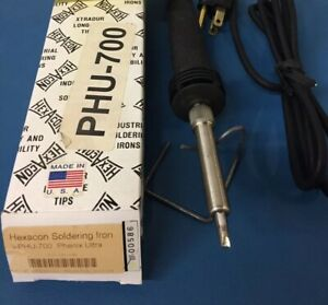 Hexacon Phu 700 Phenix Ultra Soldering Iron Ct302x 11 32 Tip 700 F New