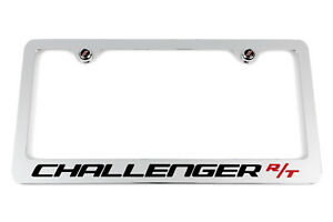 Dodge Challenger R T Chrome License Plate Frame Made In Usa