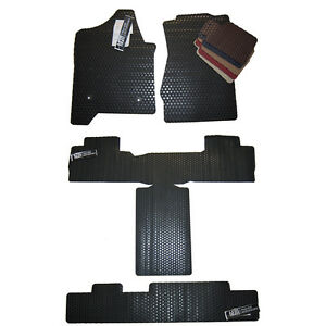 Cadillac Escalade All Weather Rubber Floor Mats Esv Base Platinum Custom
