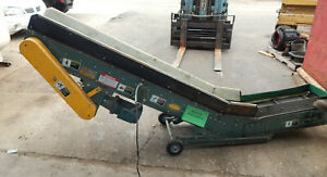 Hytrol Model Pcx Low Profile Portable Part Conveyor 12 Wide Belt 5hp 1725rpm