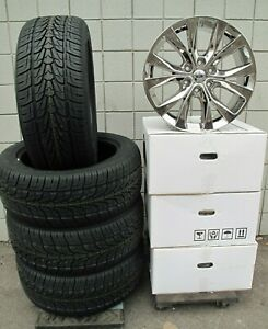 20 Ford F150 Truck Chrome Set Wheels Rims Tires Factory Style Set Of Four 10003