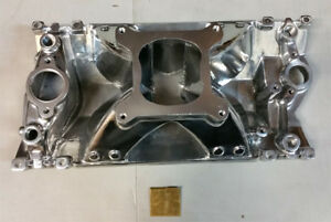 Sale Pc Sbc Chevy 350 High Rise Aluminum Vortec Single Plane Intake Manifold