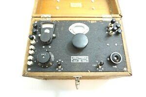 Vintage Leeds Northrup Thermocouple Potentiometer Test Set 7655 s In Wood Box