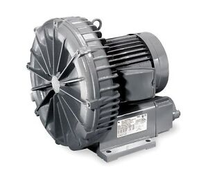 Vfc508p 2t Fuji Regenerative Blower 2 3 Hp 11 0 Amps 200 230 Volts