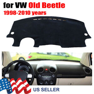 Dashboard Dashmat Cover Sun For Volkswagen Vw Beetle 1998 2010 Car Accessories