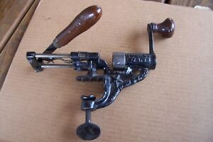 ANTIQUE IDEAL 16 GAUGE SHOT SHELL ROLL CRIMPING TOOL 1890'S RARE