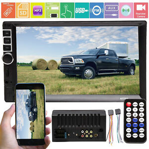 For Dodge Ram 3500 2500 1500 2 Din Car Mirror link gps Mp5 Player Stereo Radio
