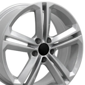 18 Wheels For Vw Volkswagon Cc Beetle Golf Jetta Passat Tiguan 5x112 45 Set 4