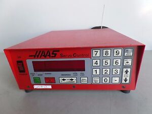 Software 37 Brush 17 Pin Haas Control Box Sco1m Rotary Table Indexer Inv 12 Lms