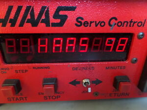 Software 98 Brush 17 Pin Haas Control Box Sco1m Rotary Table Indexer Srt7 Srt9
