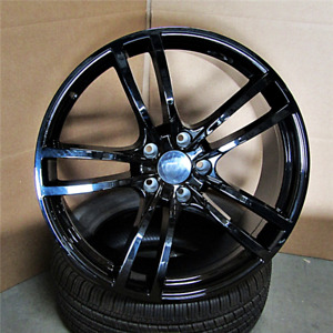 Gloss Black Wheels For Porsche Cayenne Audi Q7 Touareg 21x9 5 5x130 Rims Set 4