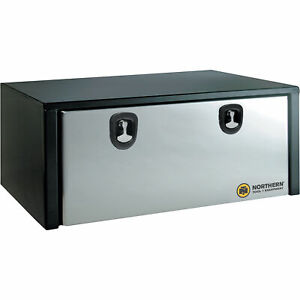 Northern Tool Stainless Steel Door Underbody Toolbox 48in