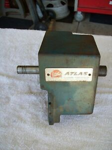 Atlas Lathe 10100 Headstock W sealed Bearings Spindle no Detectable Play