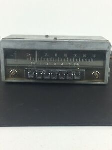 1951 52 Chrysler Model 815 Am Radio 7 Button Original Dodge Plymouth Mopar 51