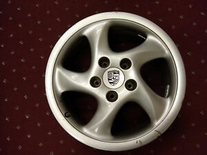 99 Porsche Front Wheel 993 362 134 05 18x7 5 Picture Of Actual Wheel For Sale B