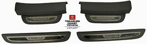 New Oem Toyota Corolla 2009 2013 Dark Gray Door Sill Enhancements 4 Piece Set