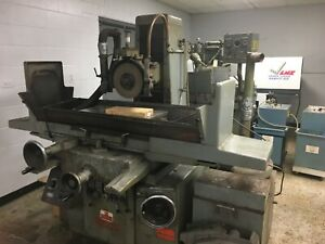 Nicco Model Nsg 6 Hydraulic Surface Grinder 12 X 24 Clearance Price