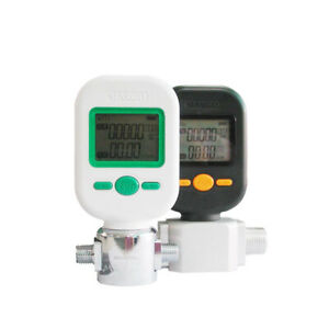 Professional Digital Protable Gas Air Nitrogen Oxygen Flow Meter 10 25 200l min