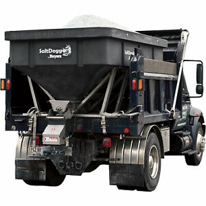 Saltdogg Electric Poly Hopper Spreader 6 0 Cu Yd Cap 13 ton Trucks shpe4000