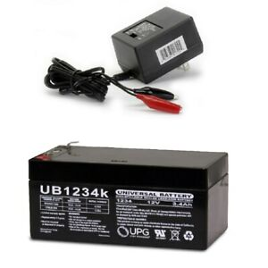 New Ub1234 12v 3 4ah Replacement Battery 4 Toro Lawn Mower 106 8397 Charger