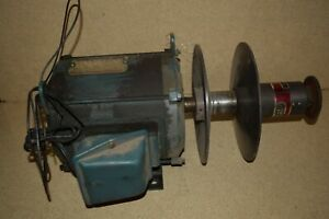 rt South Bend Lathe 14 Fourteen Motor W reliance Variable Drive 2b