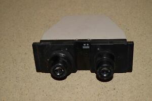 Olympus Microscope Head With Nikon Cfwe 15x12 Eyepieces