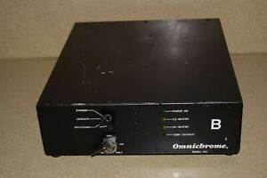 Omnichrome Model 100 Laser Power Supply W Keys 1a