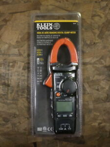 Klein Tools 400a Ac Auto ranging Digital Clamp Meter Cl210 Factory Sealed