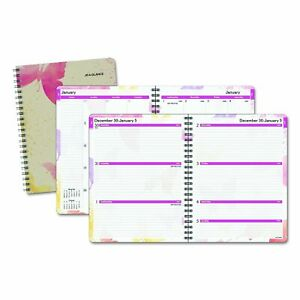 At a glance Watercolors Weekly monthly Planner 8 1 2 X 11 Watercolors