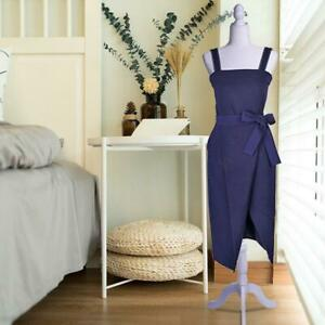 Female Mannequin Torso Dress Clothes Form Style Display W White Tripod Stand